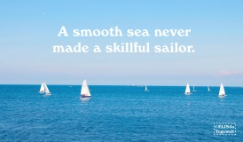 smooth sea